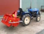ISEKI mini traktor med fræser